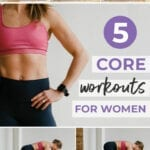 Core Workouts for Women | ab workouts for women