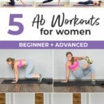 Core Exercises for Women | best ab workouts for women