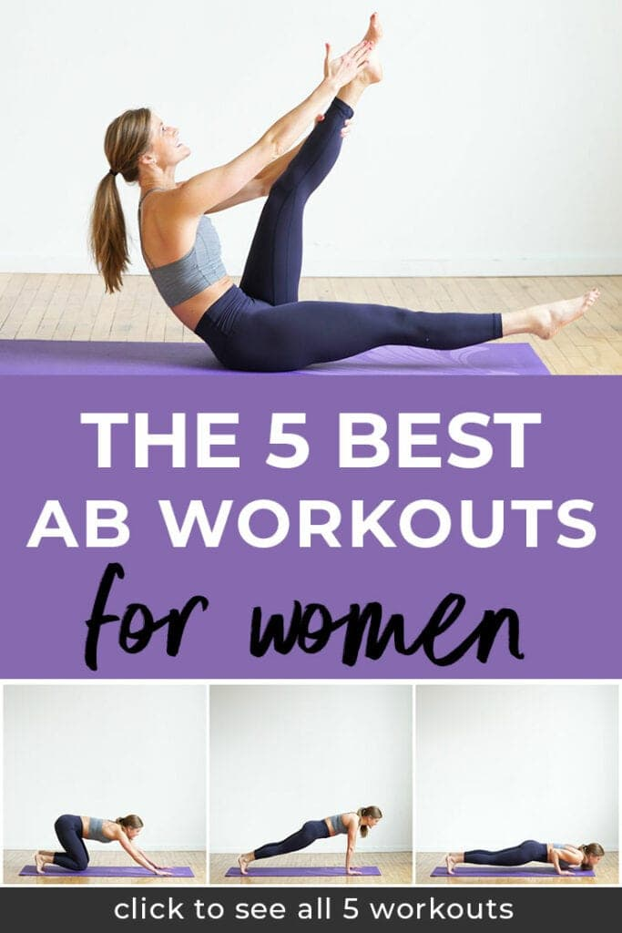 5 Ab Workouts for Women