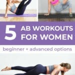 The 5 Best Ab Workouts | Core Exercises for Women