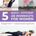 Ab Workouts for Women | The 5 Best Ab Workouts