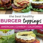 burger recipes | cowboy burger veggie burger