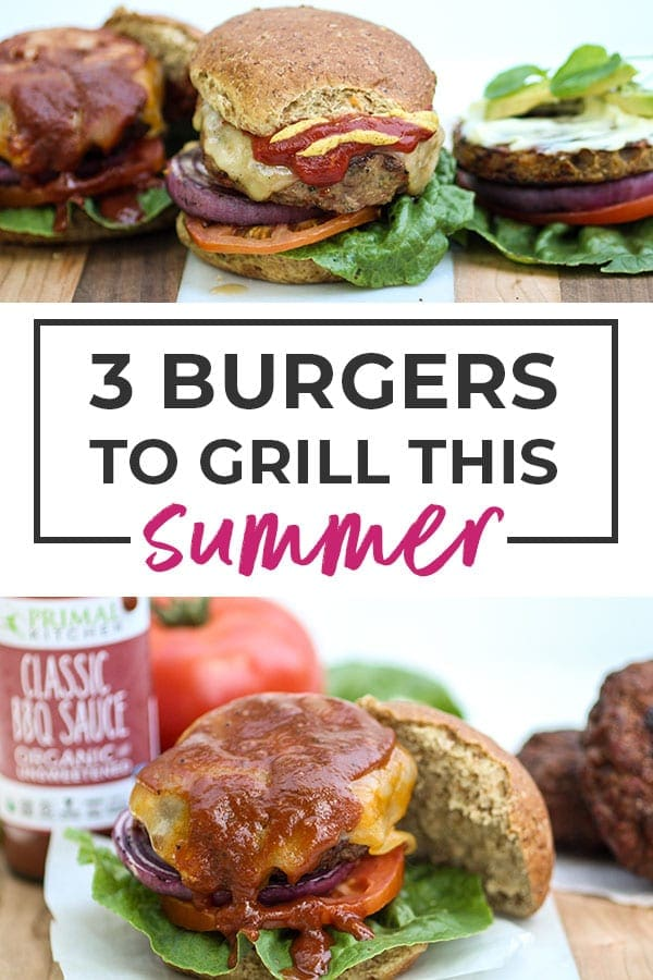 Grilled burgers | Healthier Burger Recipes