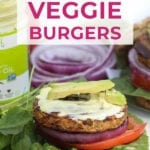 california burger | veggie burger