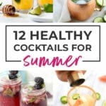 summer drinks | healthy cocktails| healthy mocktail recipes