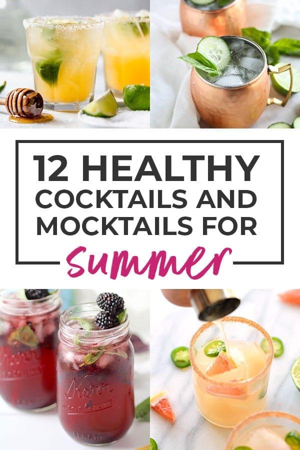 healthy drink recipes | mocktail recipes