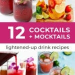 Mocktail recipes | 12 healthy mocktails and cocktails