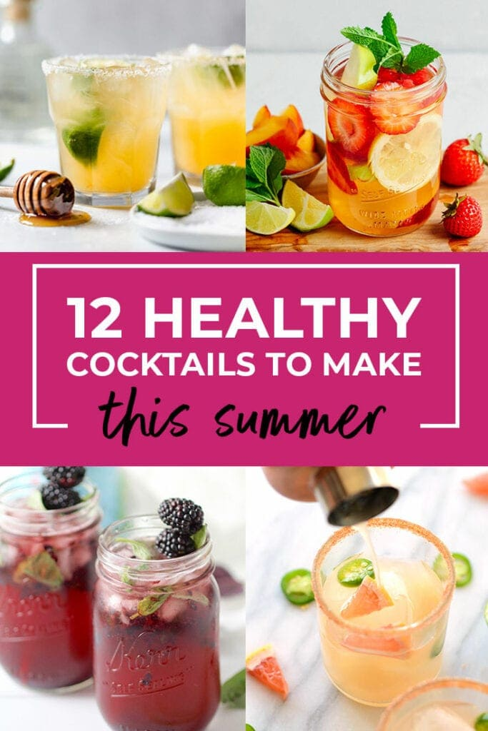 healthy mocktails | healthy cocktail recipes