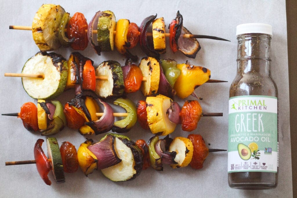 Veggie Kabob Recipe