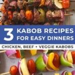 easy dinner ideas | kabob recipes