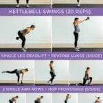 full workout pin   amrap   kettlebell amrap