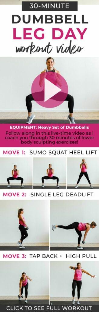 leg day workout women