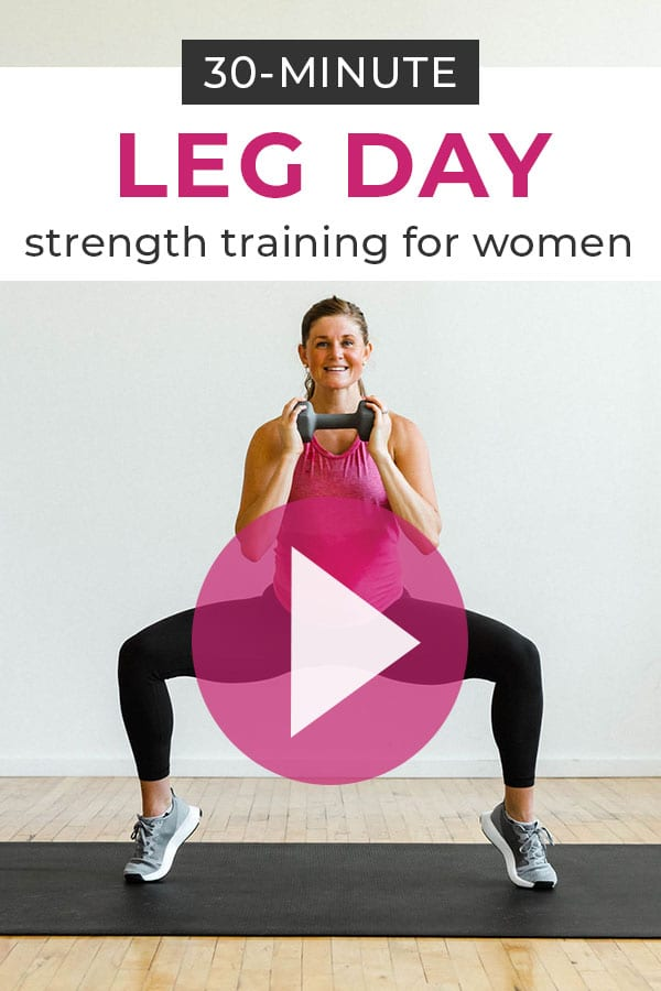 30-minute leg workout for women