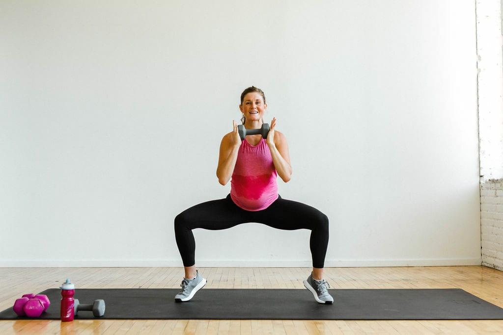 sumo squat | strength training for women