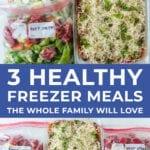 Easy Freezer Meals | freezer meal ideas