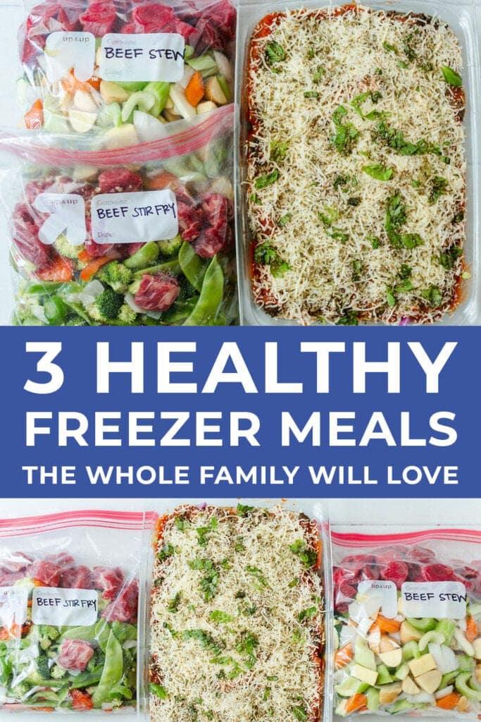 Easy Freezer Meals Dinner