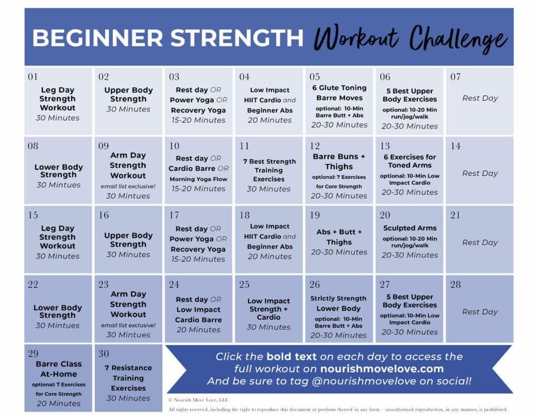 fitness challenge  30