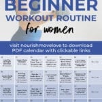 Fitness Challenge | 30 day workout calendar