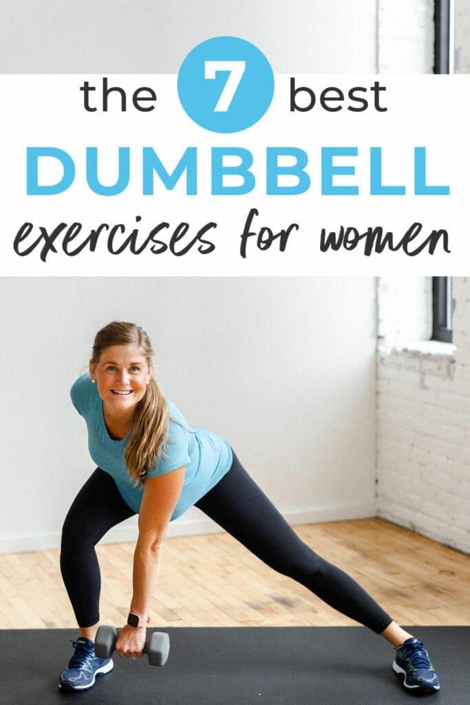 7 Best Dumbbell Exercises for Women