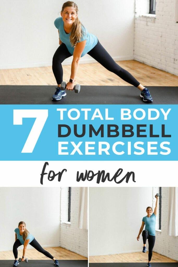 7 Total Body Dumbbell Exercises