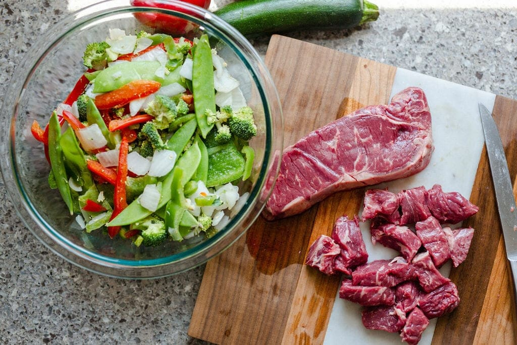 beef stir fry ingredients