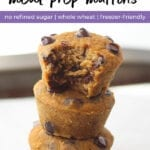 Healthy Sweet Potato Muffins | Back To School Recipes
