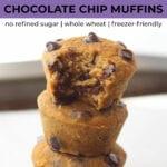 Healthy Muffins | Sweet Potato Muffins