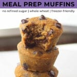 back to school recipes | healthy muffins