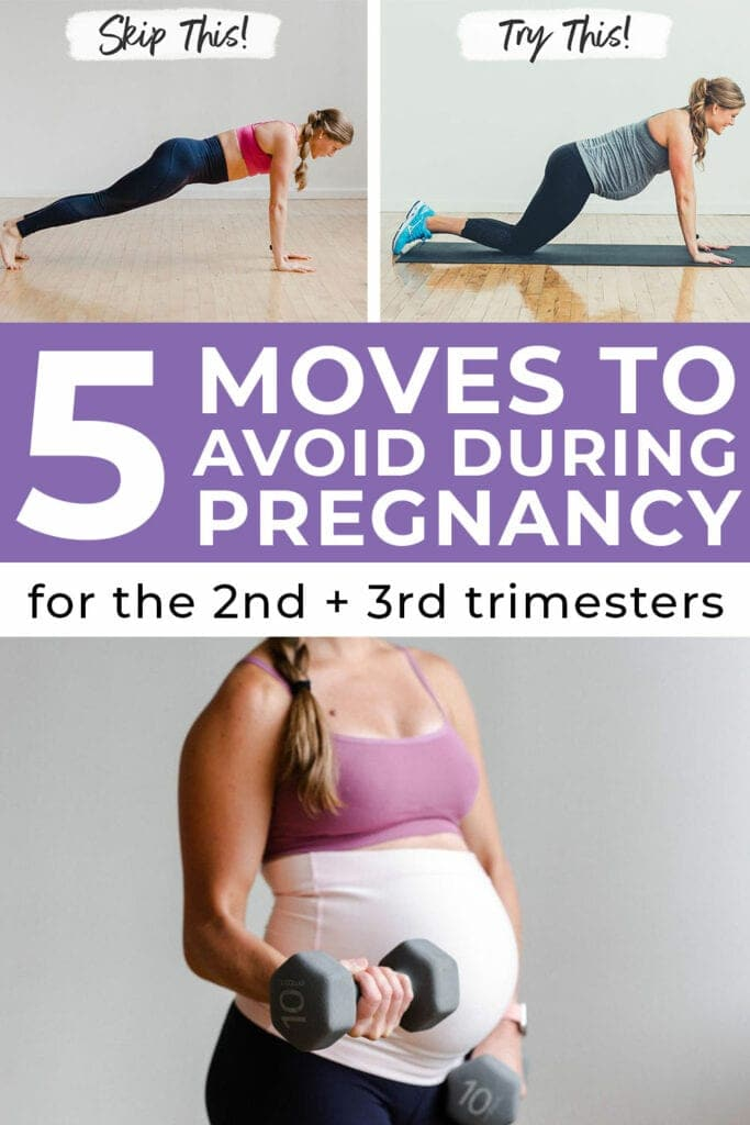 5 Exercises To Avoid During Pregnancy Nourish Move Love