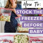 How To Stock The Freezer Before Baby