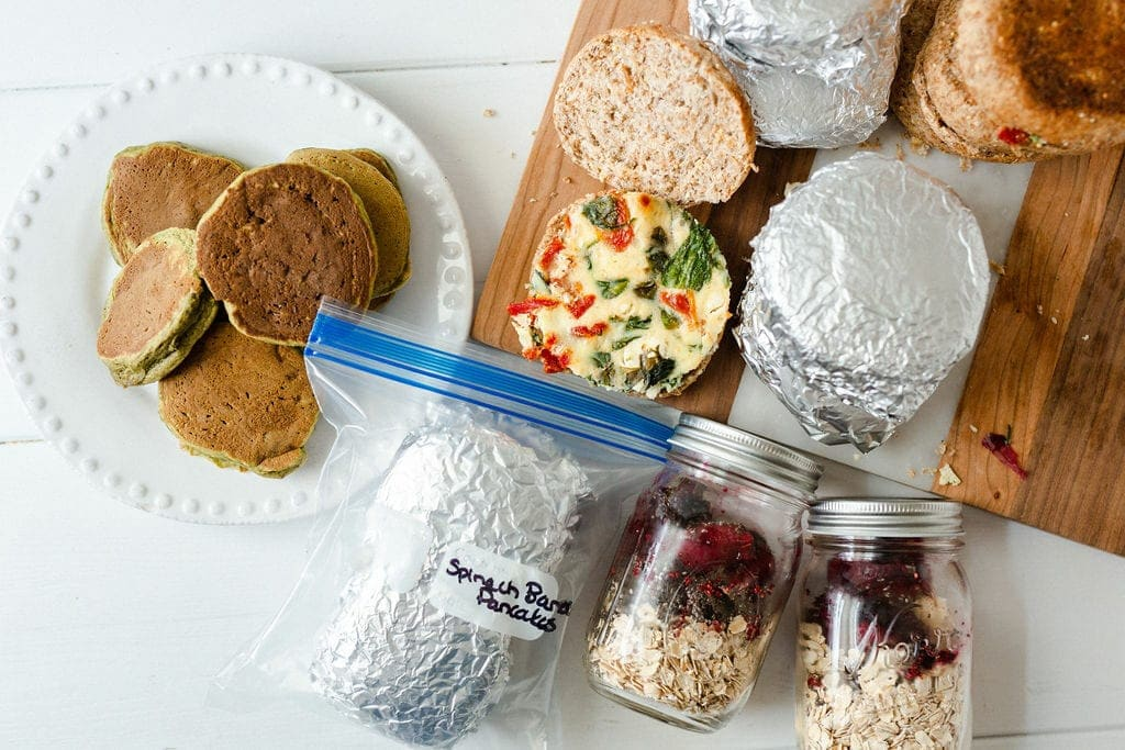 healthy breakfast meal prep