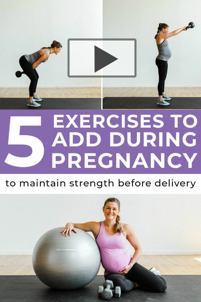 5 Best Pregnancy Exercises for Expecting Moms