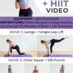 Barre Cardio Workout | Barre workout