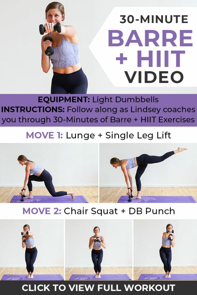 Barre Cardio Workout