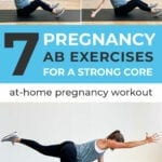 Pregnancy ab workout | pregnancy core