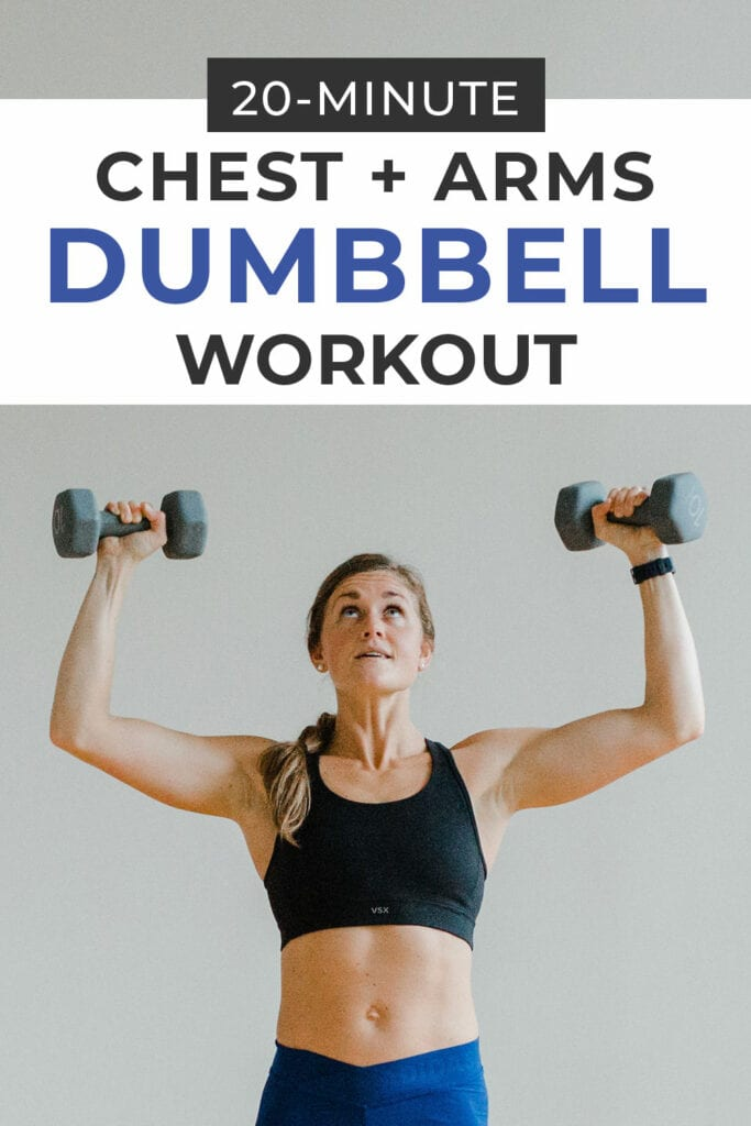 Chest + Arms Dumbbell Workout
