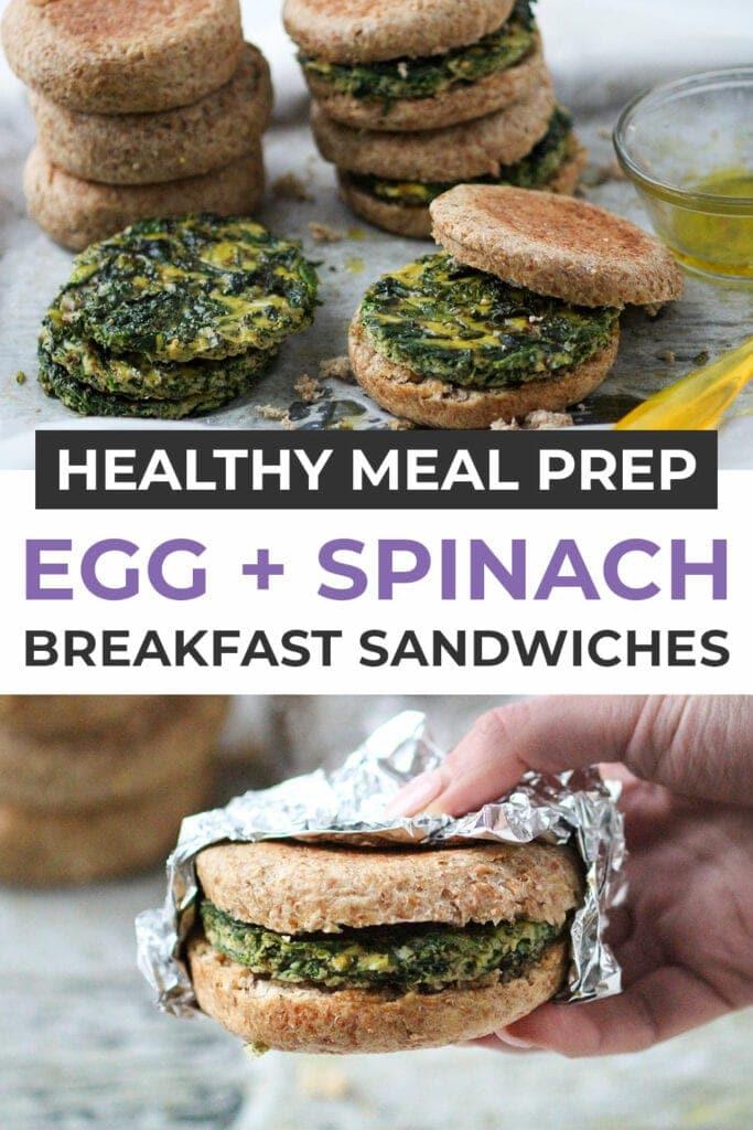 meal prep breakfast sandwich recipe