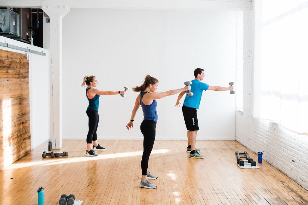 Dumbbell Swing Strength Training