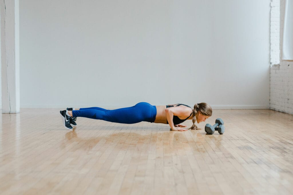 Push Up Chest Exercise for toned arms