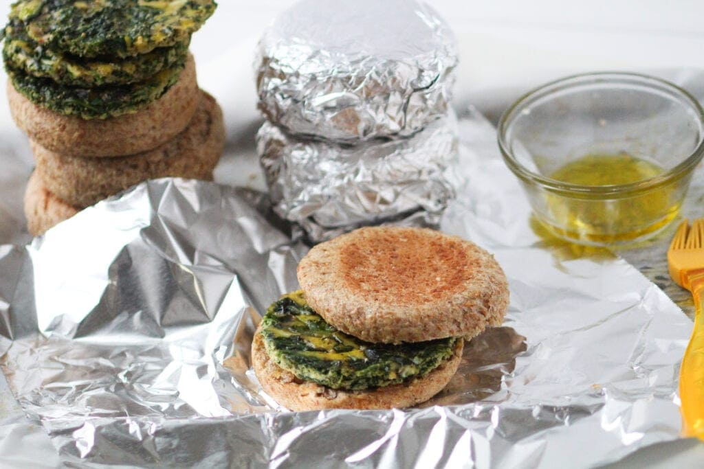 how to meal prep breakfast sandwiches for the freezer