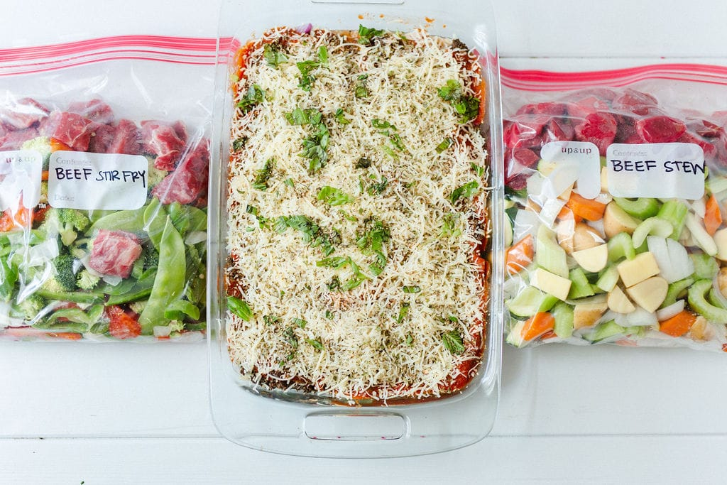 freezer meal prep recipes