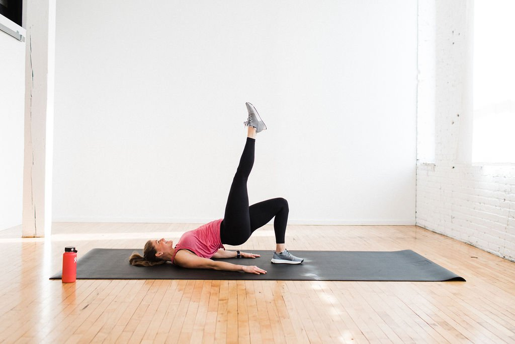 glute bridge butt exercise
