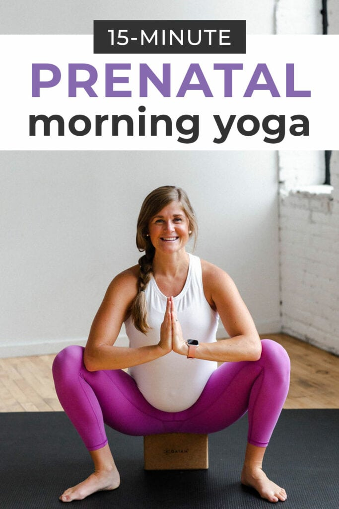 Prenatal Yoga Energizing Morning Flow