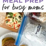 meal prep for moms