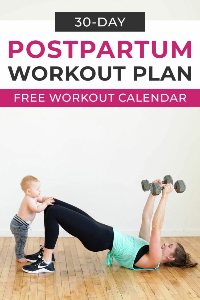 30-Day Postpartum Workout Plan