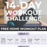 14 Day Workout Challenge | Full body workout plan