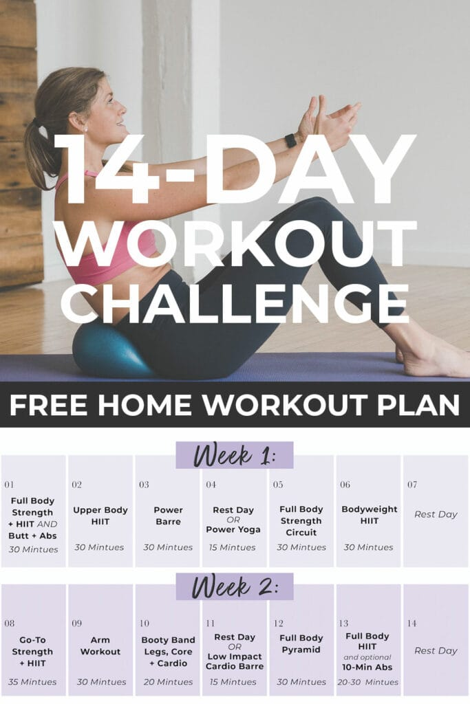 14 Day Workout Challenge