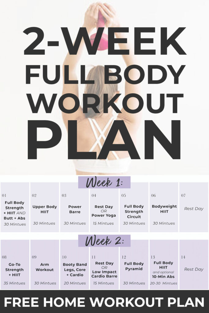 14 Day Full Body Workout Plan