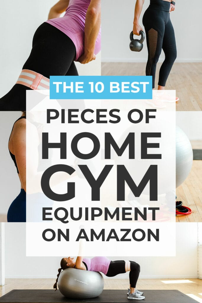 Home gym exercise equipment on amazon