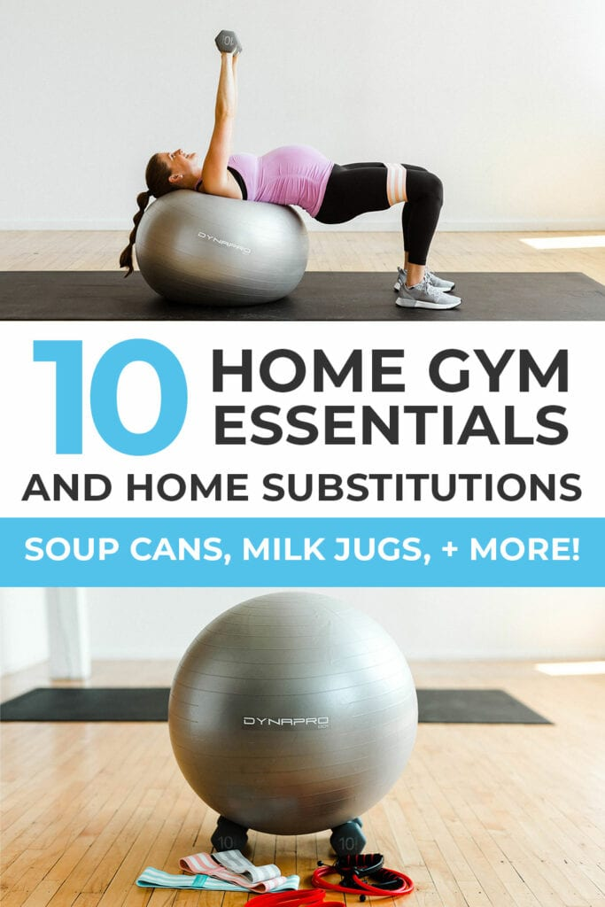 Exercise equipment for home gyms